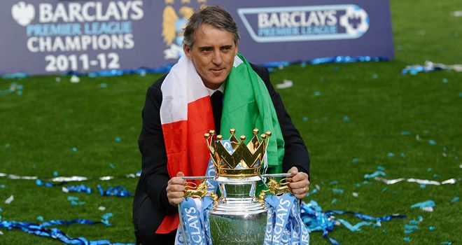 Roberto Mancini: The Manchester City boss says league schedule holds England back on world stage