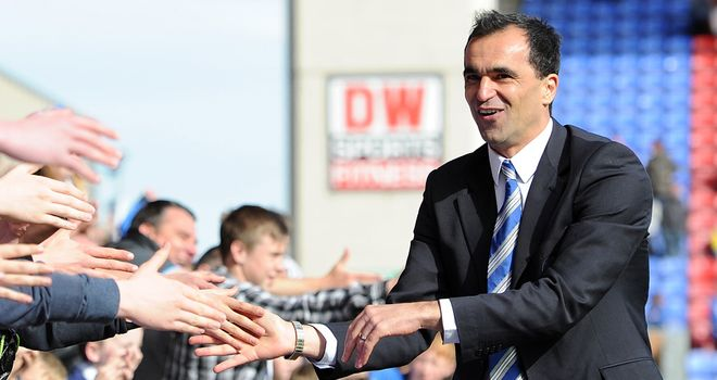 Roberto Martinez: The Wigan manager has kept the club in the Premier League for the last three seasons