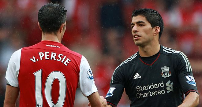Van Persie and Suarez: Meet at Old Trafford this weekend