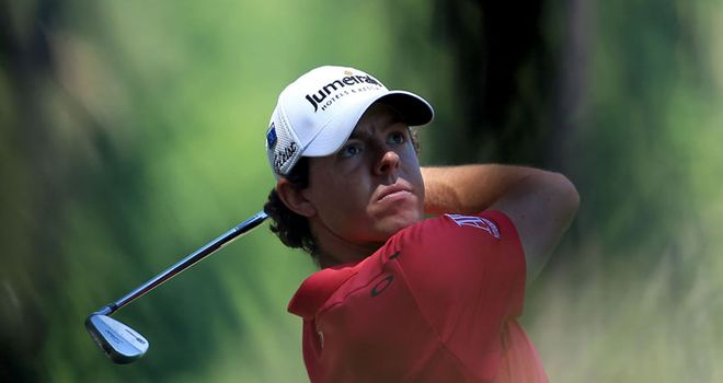 Up to the challenge: Rob says McIlroy is the man to beat at the Wells Fargo Championship