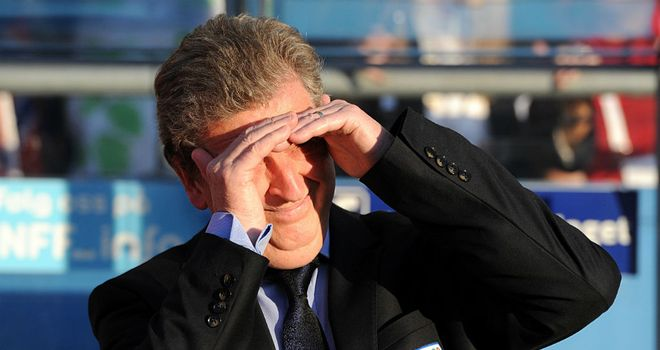 Roy Hodgson: Setting his sights on the latter stages of Euro 2012