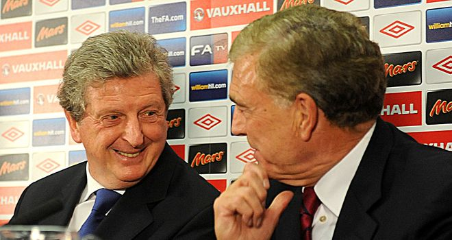 Roy Hodgson: Was introduced to the nation's media at a Wembley press conference on Wednesday