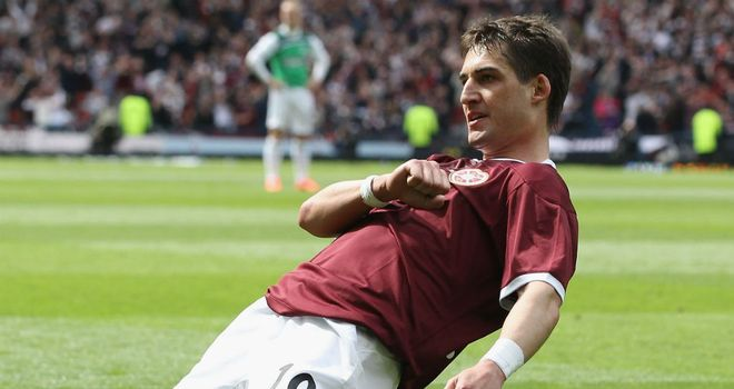 Rudi Skacel: Former Hearts attacker would be welcome back at Tynecastle by John McGlynn