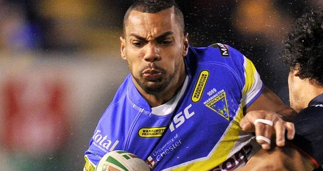 Ryan Atkins: Scored Warrington's crucial second try