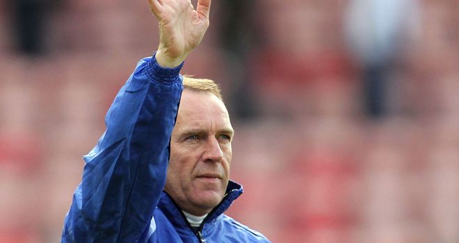 Kenny Shiels: Admits money is tight at Rugby Park