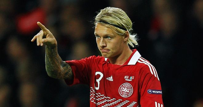 Simon Kjaer: Denmark defender is hoping to secure a move away from Wolfsburg