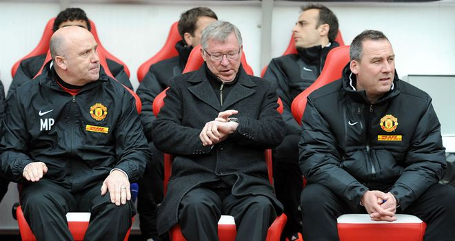 Sir Alex Ferguson: Saw Manchester United fall agonisingly short in the title race