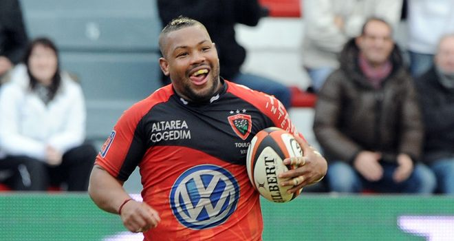 Steffon Armitage: Defended by Toulon after providing an 'abnormal' doping test result