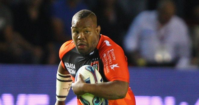 Steffon Armitage: Toulon's English flanker won the Top 14 player of the year award last season