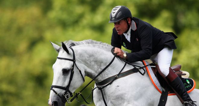 Tim Stockdale: Part of the GB squad for FEI Nations Cup event
