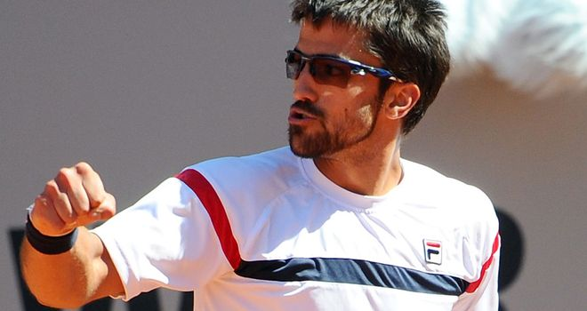 Janko Tipsarevic: Squeezed past Tomas Berdych 7-5 7-6 (10/8)