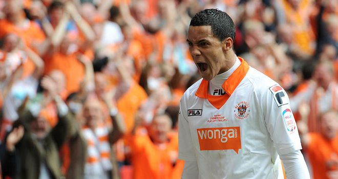 Tom Ince: Blackpool winger has scored four goals in four Championship games this season