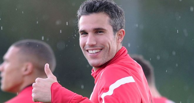 Robin van Persie: Will report back on Monday