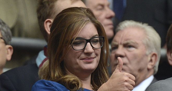Karren Brady: Looking forward to West Ham's move to the Olympic Stadium