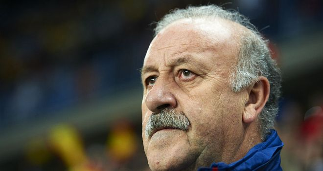 Vicente del Bosque: Insists that his decision to play with no strikers in the Group C clash with Italy was the right one