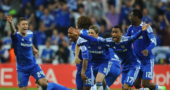Chelsea came from a goal down to achieve a famous penalty shoot-out against Bayern Munich in Germany