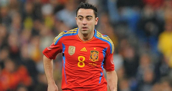 Xavi: Feels the Euros are tougher to win than the World Cup