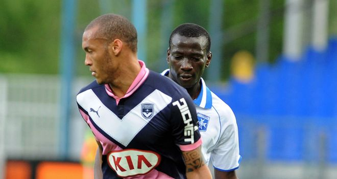 Yoan Gouffran: Bordeaux forward has confirmed on Twitter he will join Newcastle on Wednesday