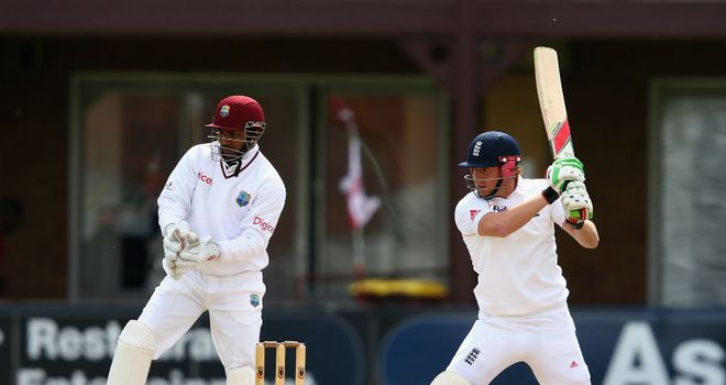 Jonny Bairstow: In action for the England Lions against the West Indies
