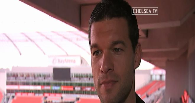 Michael Ballack: Looking forward to the Champions League final between former clubs Chelsea and Bayern Munich