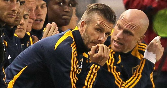 David Beckham: Stuart Pearce has instead opted for Ryan Giggs, Craig Bellamy and Micah Richards