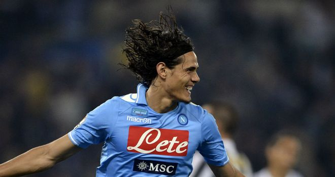 Edinson Cavani: Set Napoli on their way to glory against the Old Lady