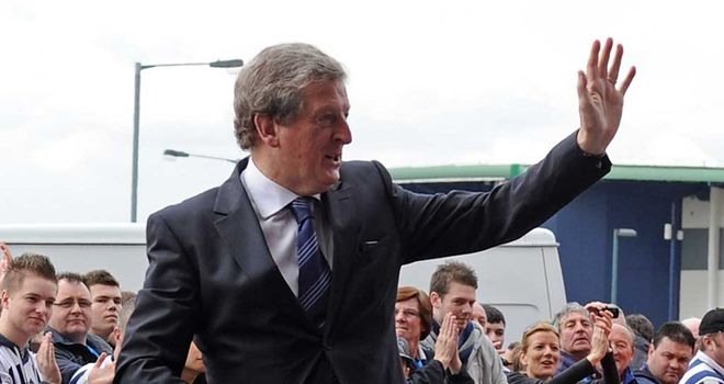 Roy Hodgson: The new England manager thanked the fans after his last game as West Brom manager