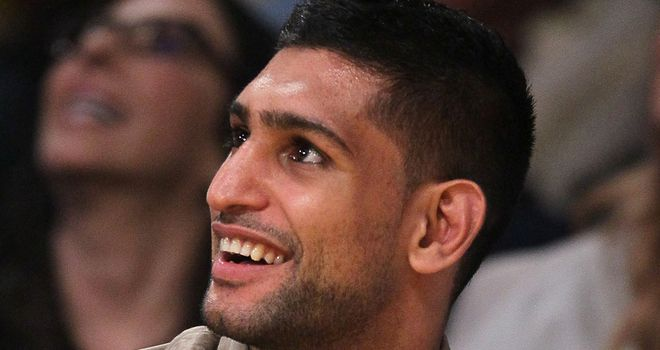 Amir Khan: preparing for Saturday's title challenge in Vegas