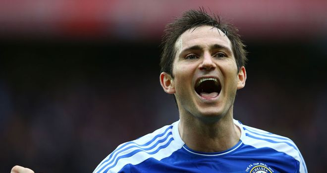 Frank Lampard: Admits Bayern enjoy an advantage ahead of the Champions League final in Munich