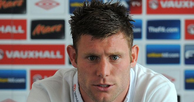 James Milner: Feels the freshness of England's youngsters could benefit team