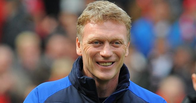 David Moyes: The Everton boss is eyeing potential signings at Euro 2012