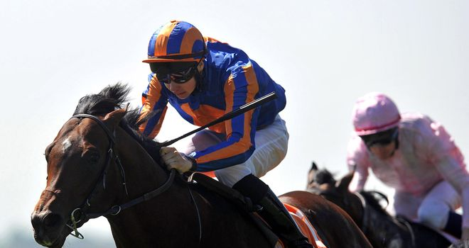 Power: Won Irish 2000 Guineas having looked in trouble during the race