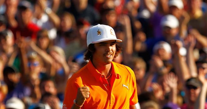 Rickie Fowler: Had been runner-up on the PGA Tour on four occasions