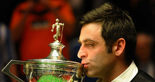 Ronnie O'Sullivan: could he be repeating his heroics at the Crucible next May?