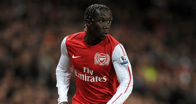 Bacary Sagna: Back in action after suffering two broken legs