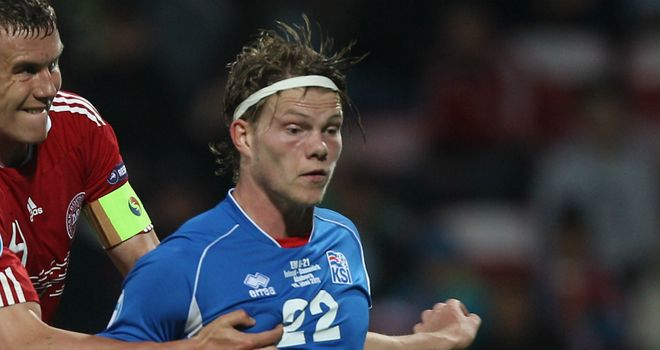 Bjorn Bergmann Sigurdarson: Being chased by a host of English clubs