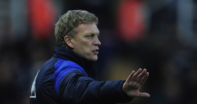 David Moyes: Believes a point at Stoke is not a bad result for his Everton side