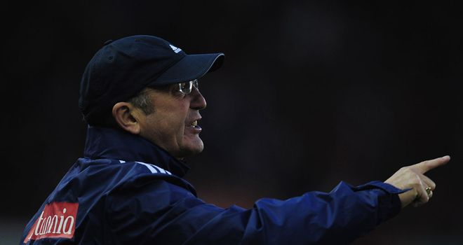 Tony Pulis: Admits that sometimes substitutions work and sometimes they don't after Cameron Jerome equaliser