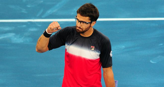 Janko Tipsarevic: claimed his second win in last five meetings with Novak Djokovic