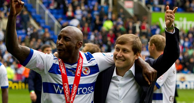 Jason Roberts: The 34-year-old hit six goals in 17 games for Reading to help them win the Championship and end their four-year exile from the top-flight