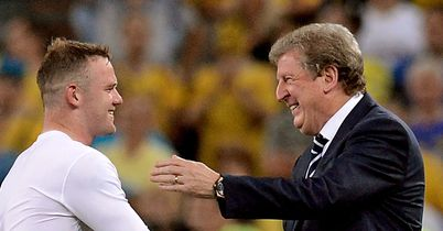 Rooney & Roy: Hoping to plot a route past Italy