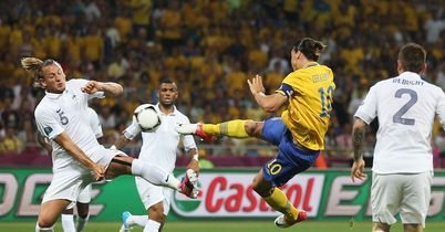 Ibrahimovic: Volleys in for Sweden