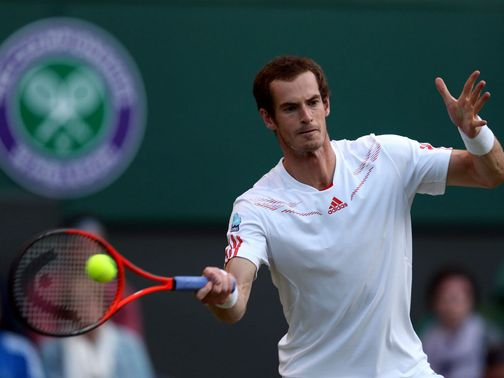 Andy Murray: Match halted by poor weather