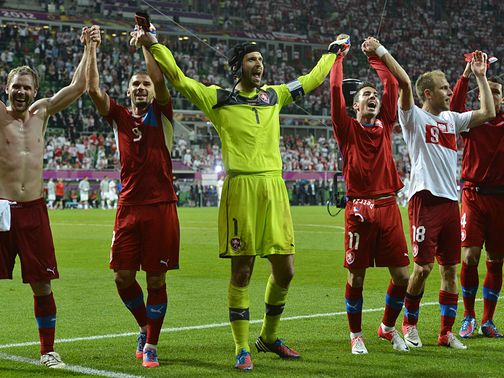 Czech Republic: Bilek's men stepped up a gear in the second half