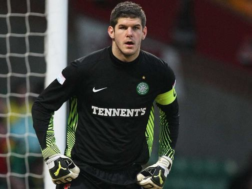 Fraser Forster: Delighted with England call-up