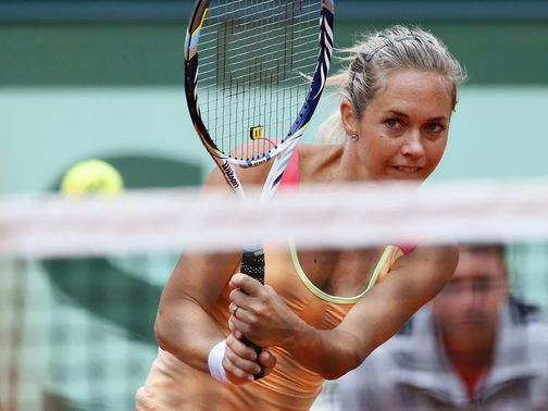 Klara Zakopalova: Fought back from a set down