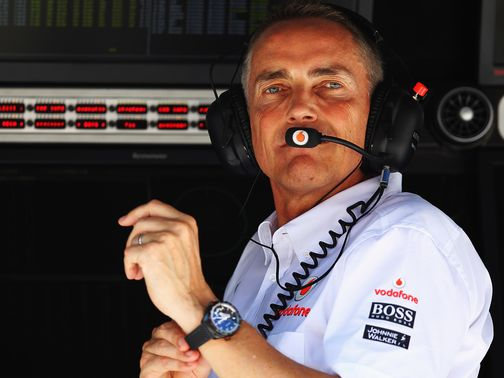 Martin Whitmarsh: Looking to be positive