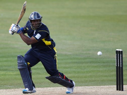 Michael Carberry: Blasted unbeaten 148 for Hampshire