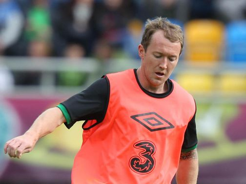 Aiden McGeady: Out with ankle injury