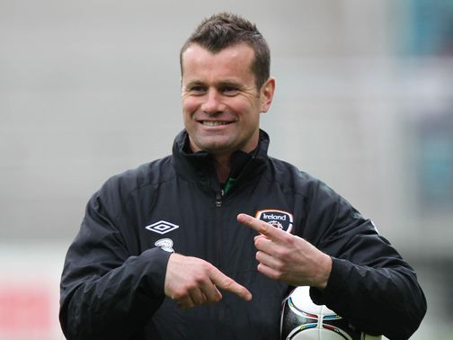 Shay Given: Played 126 times for the Republic of Ireland